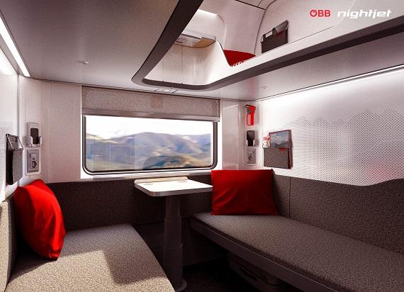 ÖBB i Siemens Mobility zaprezentowały nowe pociągi NightJet [WIZUALIZACJE]