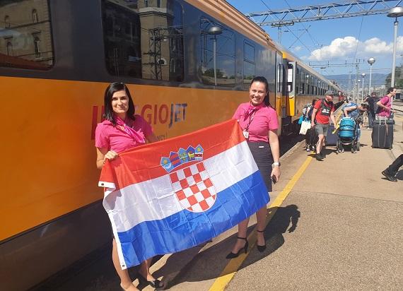 RegioJet rozpoczął sprzedaż biletów na pociągi do Chorwacji. Znamy szczegóły!