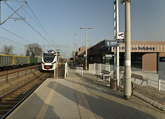 Dworzec w Imbramowicach
