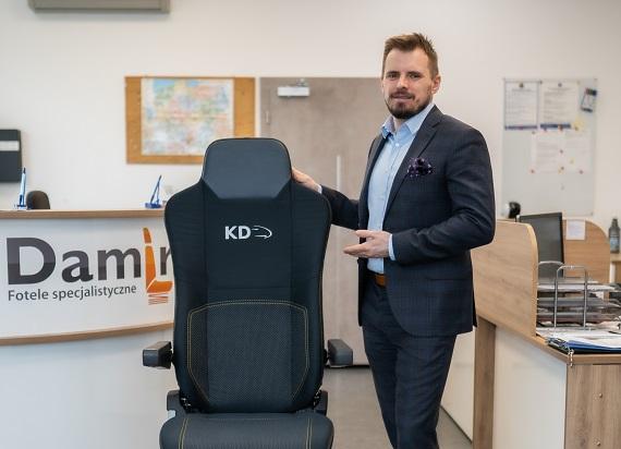 Damian Midura: Kupujący tabor zapominają o dobrej jakości fotelu maszynisty