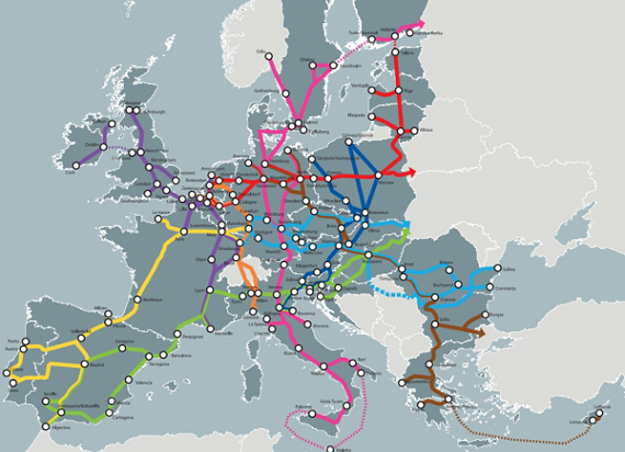Struktura transportowa UE rozwija się coraz bardziej. Najnowszy przegląd stanu infrastruktury sieci TEN-T