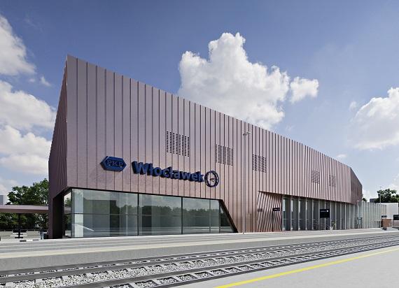 We Włocławku powstanie nowy dworzec kolejowy. Jest umowa PKP S.A. z Budimeksem