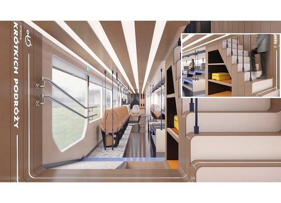 Pesa i PKP Intercity zaprezentowały konkursowe projekty pociągów stworzone przez młodych twórców