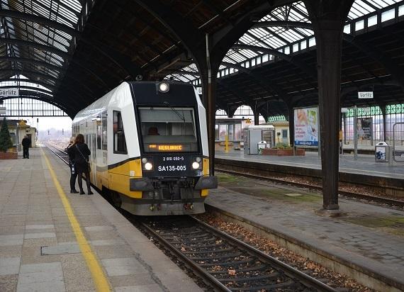 Koleje Dolnośląskie wstrzymują połączenia do Görlitz