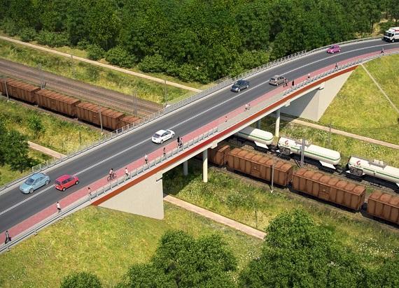 Rail Baltica: PLK ogłosiły przetarg na budowę wiaduktu w Kobyłce