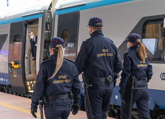 SOK: W I kwartale było mniej kradzieży na kolei