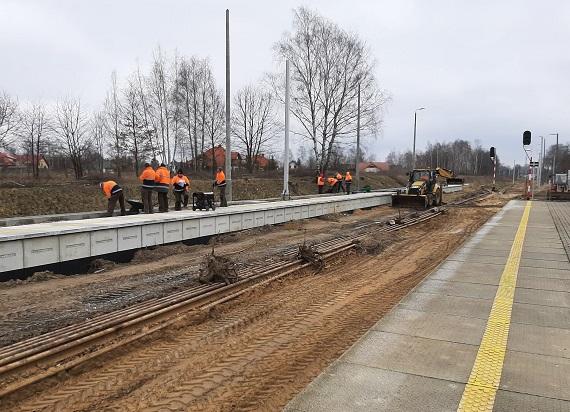 Będzie więcej pociągów na trasie Łódź – Kutno. Powstaje nowa mijanka