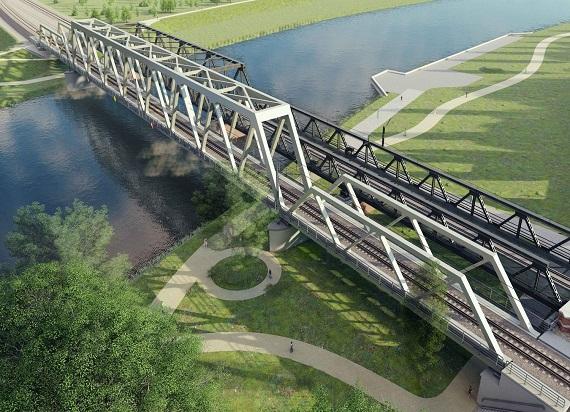 Ruszyła budowa nowego mostu kolejowego nad Odrą w Opolu na trasie E-30