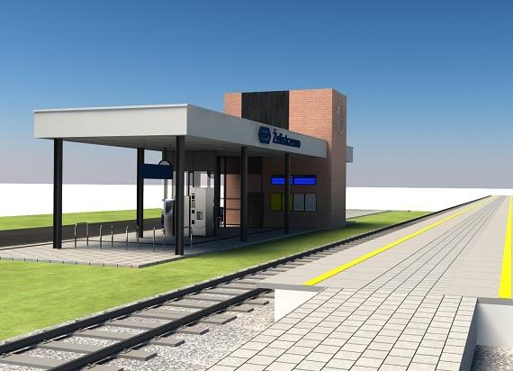Rusza budowa nowego dworca kolejowego w Żelistrzewie