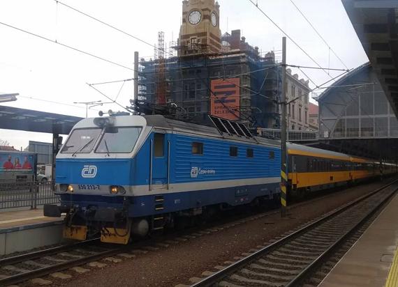 Koleje Czeskie pomagają RegioJet w realizacji przewozów na trasie Praga – Ostrawa