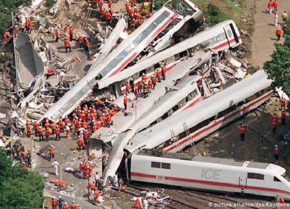 23 lata temu doszło do największej katastrofy kolejowej w powojennych Niemczech