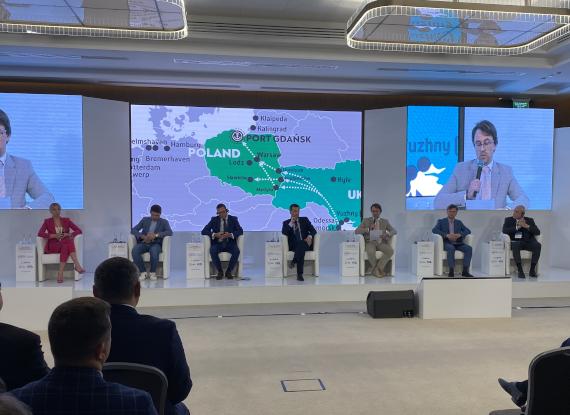 W Odessie dyskutowano o korytarzu intermodalnym Bałtyk – Morze Czarne