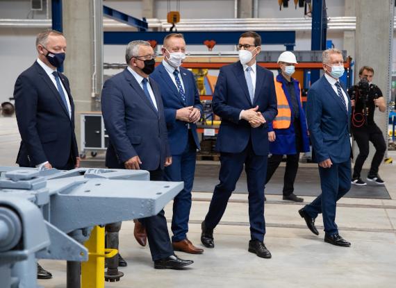 Zakończenie kolejnego etapu rozbudowy oddziału PKP Intercity Remtrak w Idzikowicach