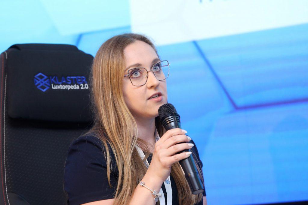 Justyna Świeboda VII Kongres Rozwoju Transportu